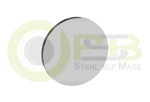 Stahlronde 80x 2mm DC01