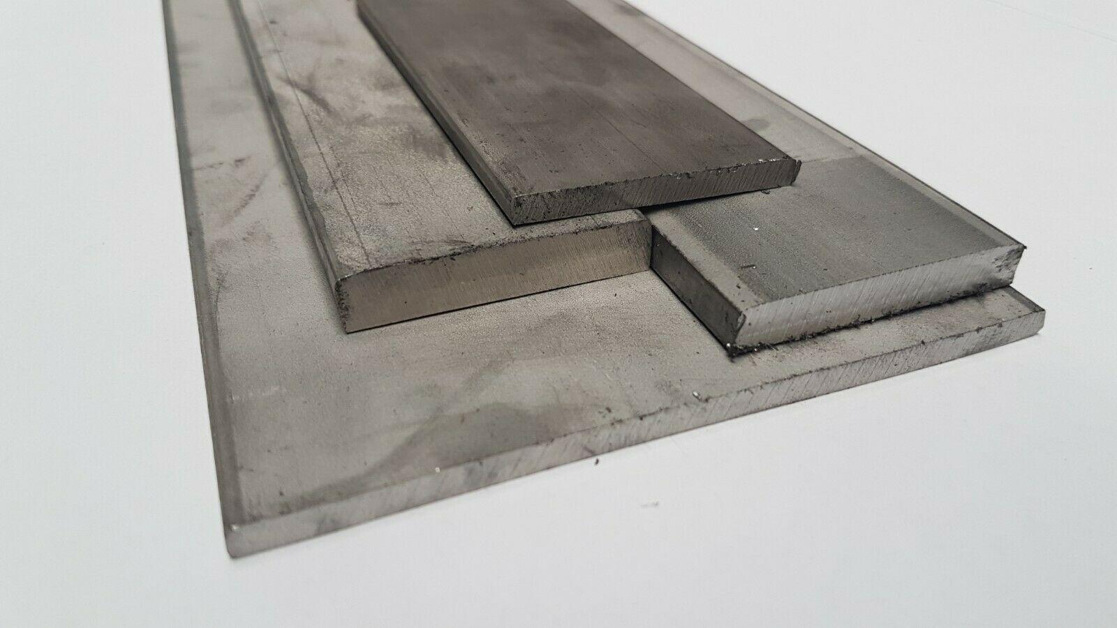 Edelstahl Flachstahl V2A Oberfl/äche blank L/änge 1000 mm Abmessungen 80 x 6 mm FRACHTFREI