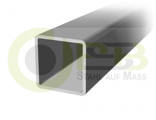 500-2000mm 2000mm Stahlrohr Quadratrohr Vierkantrohr 25x25x2 mm E235 EN 10305-5